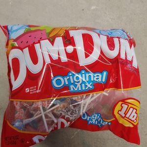 1lb bag of Dum Dum Lollipops
